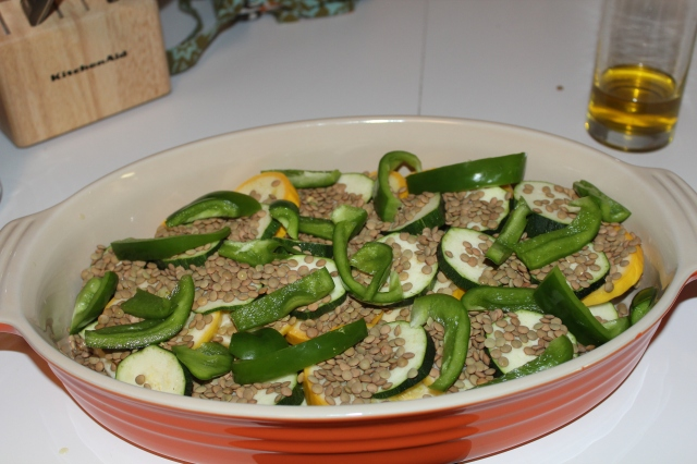 Green pepper layer