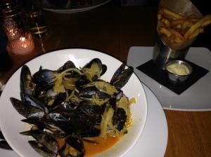 graze mussels