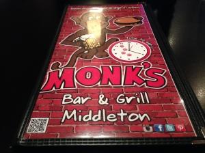 monks menu