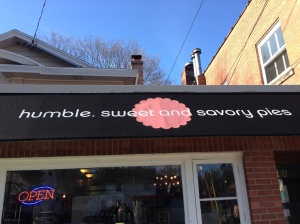 humble pie sign