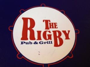 rigby menu