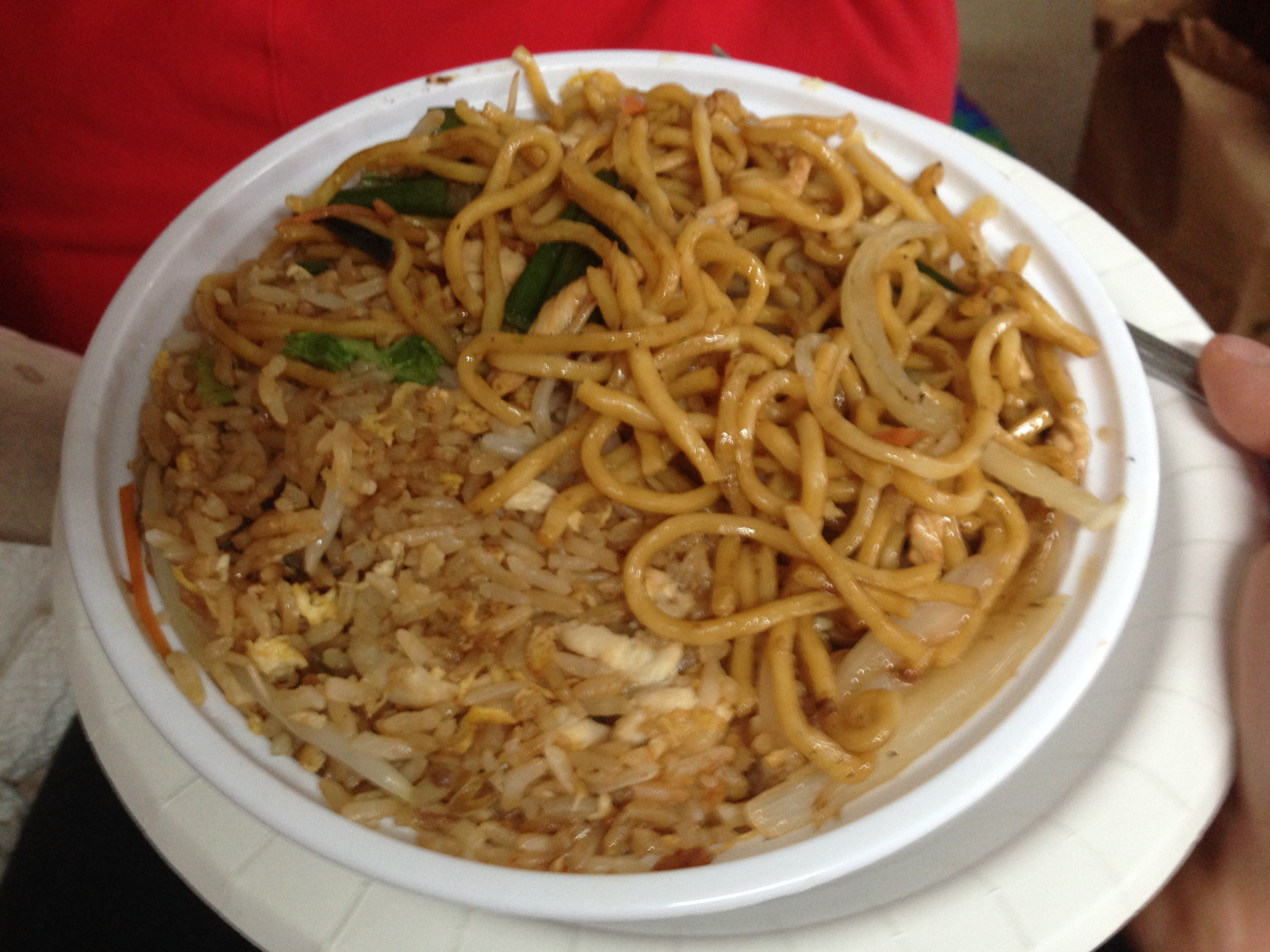 Lo mein hannah mcclung orient house chicken lo mein lunch special forumfinder Images