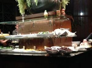Samba salad bar