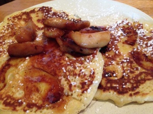 Sophia's apple pancakes