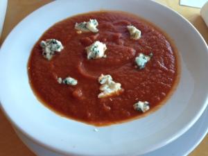 Creamery carrot, tomato soup