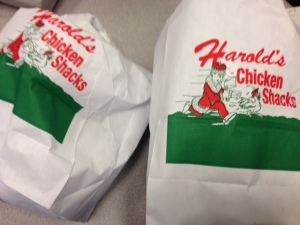 Harold's Chicken Shack to-go