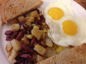 Schubert's corned beef hash
