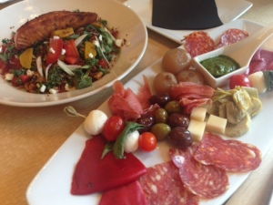 antipasto platter, summer salad