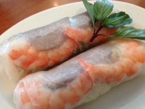 Saigon Noodles spring rolls