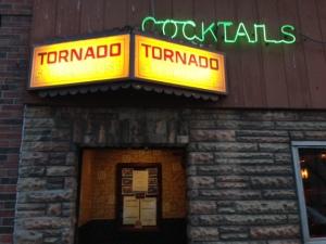 Bar entrance on Main Street
