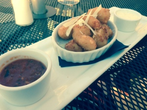 Buck and Honey's fried cheese curds