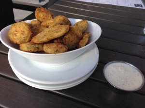 DLux fried pickles