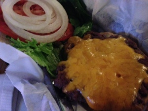 Harmony cheeseburger