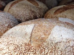 Hazelnut Cafe sesame loaf