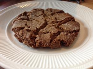 Hazelnut Cafe molasses cookie
