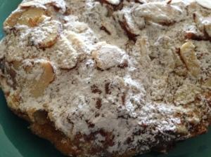 Hazelnut Cafe almond croissant