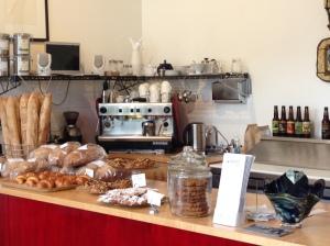 Hazelnut Cafe counter