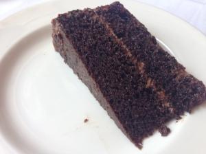 Rare chocolate cake
