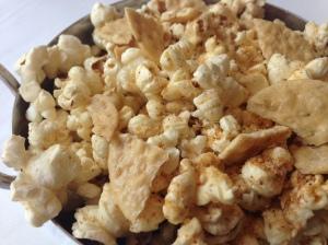 Rare smokey popcorn