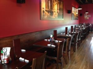 Flying Hound dining room