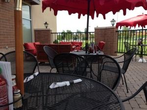 Flying Hound patio