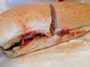 Gino's meatball sub