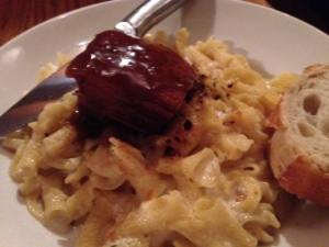 Cooper's Tavern pork belly mac