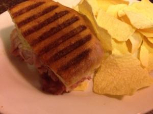 Jason's Deli Cuban panini