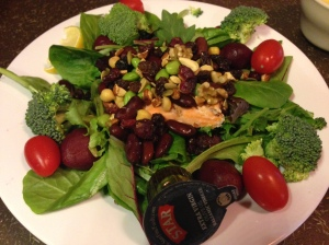 Jason's Deli salmon salad