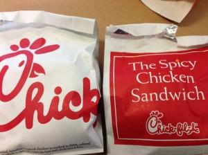 chik sandwiches