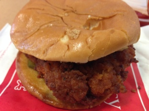Chick-fil-A spicy chicken sandwich