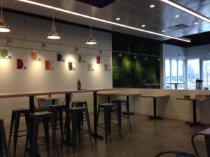 Freshii dining room