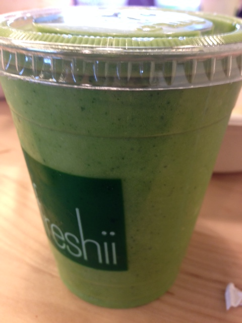 Freshii concept is good, execution could be better ...