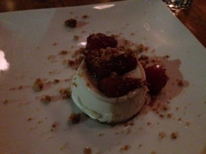 43 North almond panna cotta