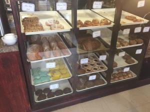 La Petit Croissant bakery case