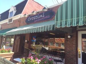 Crostini Sandwiches